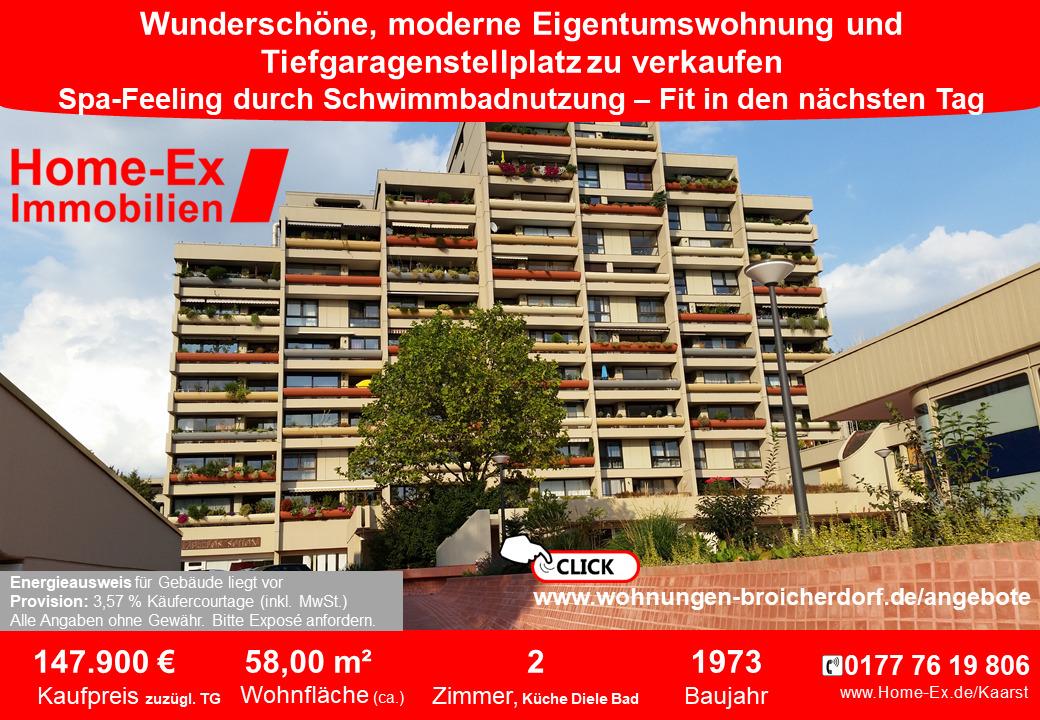 Eigentumswohnung zu verkaufen Broicherdorf